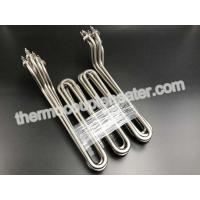 Wholesale High Safety Tubular Heating Elements For Water / Non-Corrosive Liquids , Stainless Steel 304 from china suppliers