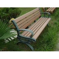 Wholesale Eco - friendly Recyclable Wood Plastic Composite Bench , Composite Park Benches from china suppliers