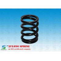 Wholesale 7MM Wire Machinery Springs / Compression Damping Springs Black Powder Coated from china suppliers