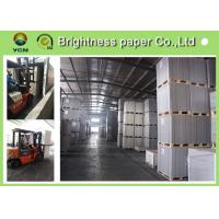 Wholesale Anti Curl Wood Pulp Board Paper , GC1 GC2 / C1S Ivory Card Paper For Book Covers from china suppliers