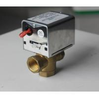 Wholesale 2 / 3 Port Motorized Zone Valve Replacement Electric Motor Power CE Listed from china suppliers