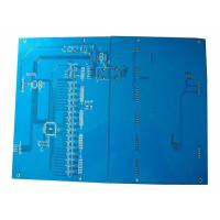 Wholesale FR4 1.6mm Blue Double Side PCB Manufacturing and Assembly Circuit Board Printing from china suppliers