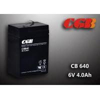 Wholesale CB640 No Leaking Sealed Lead Acid Battery 6v 4ah , High Efficiency Ups Battery from china suppliers