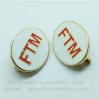 Wholesale Cloisonne copper lapel pin with safety pin, personalized brass Cloisonne pin badges wholesale from china suppliers
