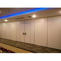 Wholesale Melamine / Fabric Surface Acoustic Commercial Folding Partition Walls For Office from china suppliers