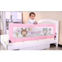 Wholesale Cute Woven Net  One Button Design Queen Size Toddler Bed Rails For Protect Baby from china suppliers