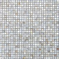 Wholesale Interior Wall 300x300mm White Sea Shell Mosaic Tile Backsplash Eco-Friendly from china suppliers