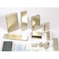Wholesale gold Coating N35 sintered permanent cars,communication,electron Neodymium Block Magnets from china suppliers