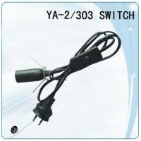 Buy cheap SAA approval e27 lamp holder plastic wholesale lamp cord set from wholesalers