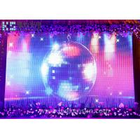Wholesale SMD3528 Led Stage Screen , Led Stage Panels Waterproof 64x32dots from china suppliers