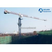 Quality 10 Ton Topless Tower Crane Pt6518 65m Jib With Potain 3m Mast Section for sale