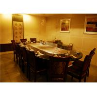 Wholesale Arch and Fan-shape Electric Teppanyaki Grill / 304 stainless steel Teppanyaki Table from china suppliers