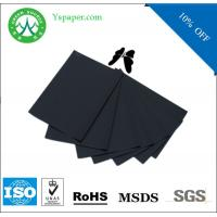 Wholesale 150gsm black paper duplex cardboard craft paper from china suppliers