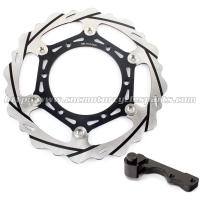 Wholesale Oversize 270mm Front Motorcycle Brake Disc WR 125 250 With Alloy Caliper On from china suppliers