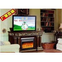 Wholesale Decorative Fake Frame Heating Electric Fireplaces TV Stands Free Standing from china suppliers