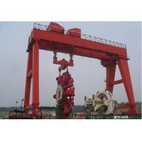 Wholesale 400t Shipbuilding Gantry Crane / Mobile Travelling Gantry Crane With Shield from china suppliers