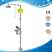 Wholesale SH712BSC-dust cover emergency shower and eye wash,sfety shower and eyewash fountain from china suppliers