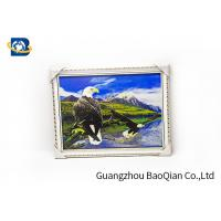 3D Gift PET 3D Lenticular Pictures Flips Photo Of Eagle Animal Support Printing Service