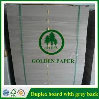 Wholesale Duplex board with white back from china suppliers