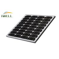 Wholesale 30W 40W Mono Monocrystalline Residential Solar Power Panels For Home , 715V 8A from china suppliers
