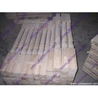 Wholesale Solid wood stair parts solid wood stair post from china suppliers