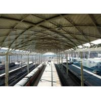 Wholesale Prefabricated Railway Station Steel Frame Structure With Space Frame Roof from china suppliers