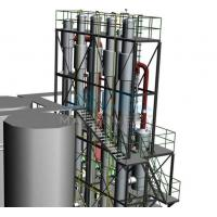 Wholesale Lab Scale Moveable Single Effect Falling Film Thermal Evaporator from china suppliers