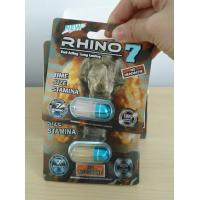 Quality Rhino7 5000 rhino pills sex pills packaging box Blister  packaging Card display box male sex enhancement pill container for sale