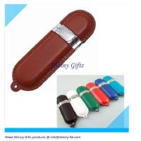 Wholesale 32gb usb drive leather pendrive  from china suppliers