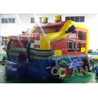 Wholesale Colorful Mini Inflatable Bounce House Jumper Monster Car for Children Park from china suppliers