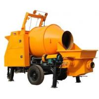 Wholesale High Quliaty Diesel Engine Concrete Mixer with Pump from china suppliers