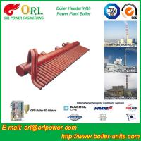 Wholesale 100 Ton Boiler Header Manifolds Carbon Steel Boiler Unit for Natural Gas Industry from china suppliers