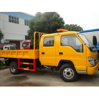 Wholesale forland brand 6 wheel loading capacity 5ton foton dump truck for sale, forland brand twin cabs 3-5tons dump truck from china suppliers