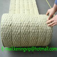 Wholesale Rock wool blanket with wire mesh for building and oven insulation/Mineral wool from china suppliers