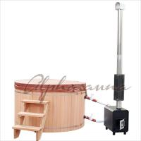 Wholesale 1800*900MM Japanese soaking Hot Tub Bath Barrels , durable cedar sauna kit from china suppliers