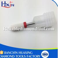Wholesale Shank Head 2.35mm Fine Barrel Ball  White Ceramic Burr for Nail Over Length 40mm from china suppliers