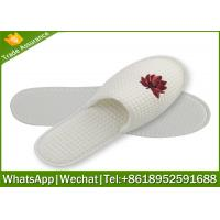 Wholesale hotel slipper,waffle slippers manufacturer,waffle slipper with logo from china suppliers