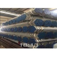Wholesale Round Steel Galvanised Pipe , Hot Dipped Galvanized Pipe 250-300g / ㎡ Zinc Coating from china suppliers