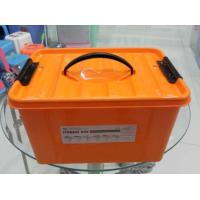 Wholesale GJ5590 16L Blue Red  PP Materials Plastic Storage Box / Plastic Storage Crate from china suppliers