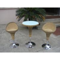 Wholesale Pool Resin Wicker Bar Set from china suppliers