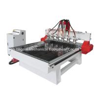 Wholesale 6 Spindle Heads Wood Relief CNC Router with 1300*1800mm Working Area Servo Motor from china suppliers