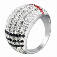 Wholesale Crystal Ring, OEM/ODM Orders Welcomed from china suppliers