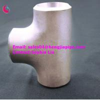 Buy cheap China steel reducing tee from wholesalers