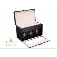 Wholesale Carbon Fiber Watch Winder , Personalized Mens Watch Winder Box from china suppliers