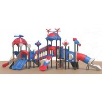 Buy cheap children outdoor rock climbing wall playground equipment slides from wholesalers