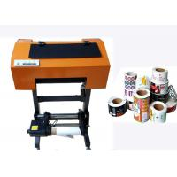 Wholesale Roll To Roll Label Printer Multi Purpose , Digital Roll Label Printing Machine from china suppliers