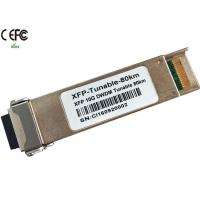 Wholesale Cisco 80km 10G DWDM tunable XFP Optical Transceiver 50GHz duplex LC from china suppliers