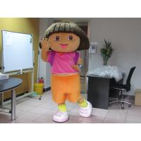Wholesale Custom Girl Cartoon Character Dora Mascot Costumes  from china suppliers