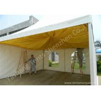 Wholesale French Type Stainless Frame high peak pole tent , aluminum canopy tent with Linings from china suppliers