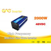 Wholesale AC Charging Function Modified Sine Wave Inverter / Power One Off Grid Inverter from china suppliers